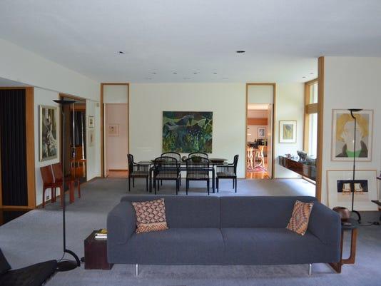 Cool spaces: home by famed designer irving tobocman on the market in