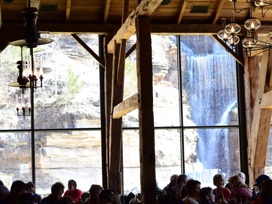 A view of the interior of Canyon Grill Restaurant at