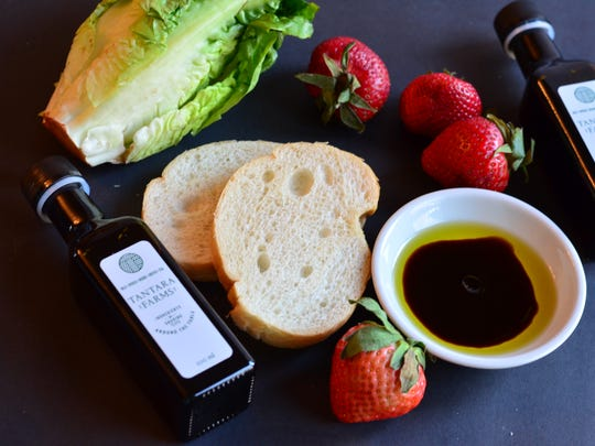 From fruits and salads to breads, gourmet vinegars