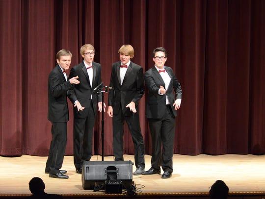 Wisconsin Youth Harmony Festival 2017 winners Chordination.