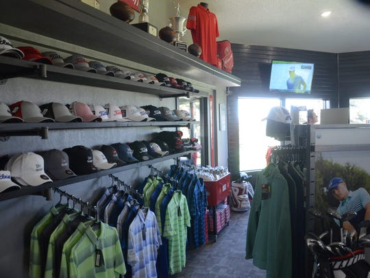 The pro shop has been remodeled at the Rocky Run clubhouse.