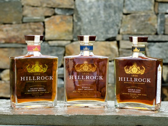 Hillrock Estate Distillery spirits are crafted on a