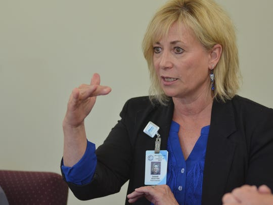 Dianne Scotten, administrator at the Montana Mental