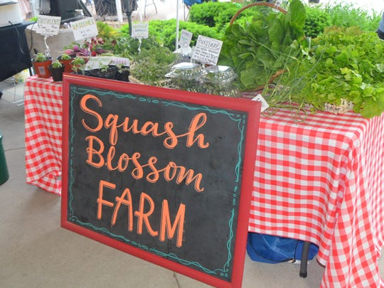 You can find Squash Blossom Farms at the Battle Creek Farmers Market on Wednesdays and the Kalamazoo Farmers Market on Saturdays.