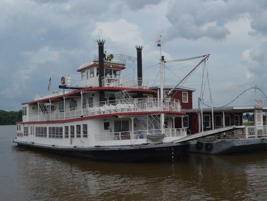 Mark Twain riverboat cruise