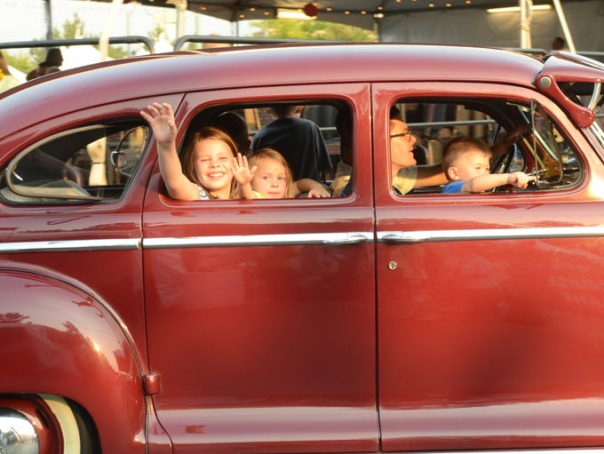 Hot August Nights - a vintage car event at Peppermill