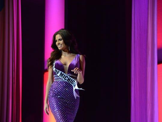Miss Heart of Michigan Laura Esqueda, 23, of Detroit,