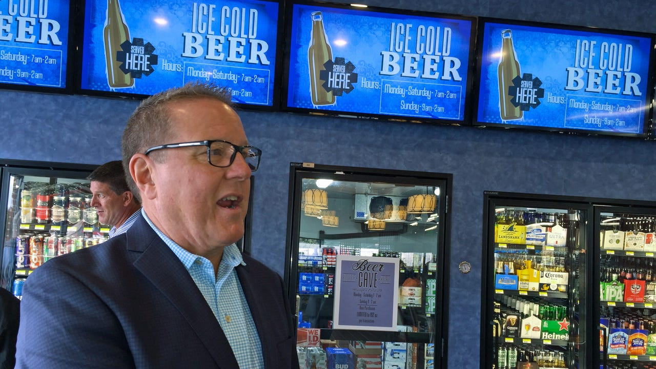 The new Mercersburg Rutter's Farm Store has a Beer Cave, one of the first in Pennsylvania.
