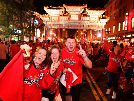 USP NHL: STANLEY CUP FINAL-WASHINGTON CAPITALS WAT S HKN USA DC