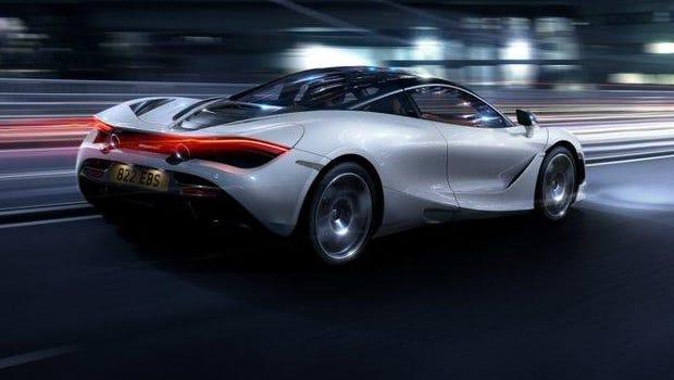 McLaren's 720S is a marvel of this speed-specific design.