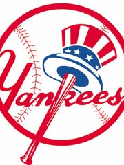 The 1998 American League Champions New York Yankees baseball team logo is shown in this graphic. The Yankees will meet the San Diego Padres in the World Series.