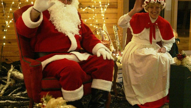 Santa Claus welcomes visits at the QuarryView Center, 3401 Calumet Drive, Sheboygan, from 5 to 9 p.m. on Fridays, Saturdays and Sundays, through Dec. 23.