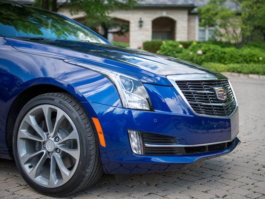 Cadillac Ats V Coupe Indianapolis >> Auto review: Does 2015 Cadillac ATS Coupe have an image problem?