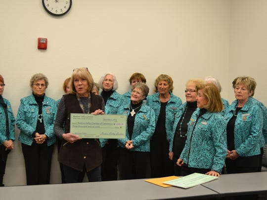 The Ruidoso Valley Chamber of Commerce is awarded $3000 to help fund projects for the MainStreet program.