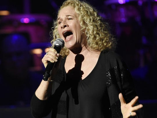 Carole King performs in Los Angeles in May.