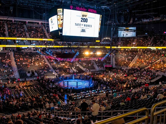 Even the early fights drew a crowd at UFC 200.