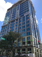 The Arras Residences in the former BB&T Building downtown