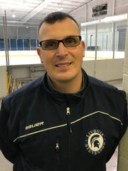 Livonia Stevenson boys hockey coach David Mitchell