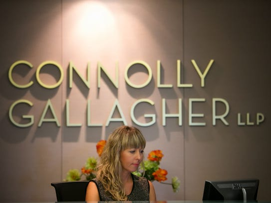 Joanna Ferrese works at Connolly Gallagher in Wilmington.
