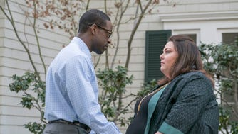 "Sterling Brown and Chrissy Metz in ""This is Us"""