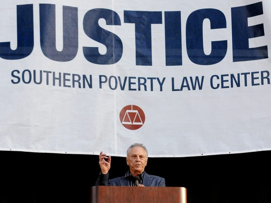 Southern Poverty Law Center founder Morris Dees.