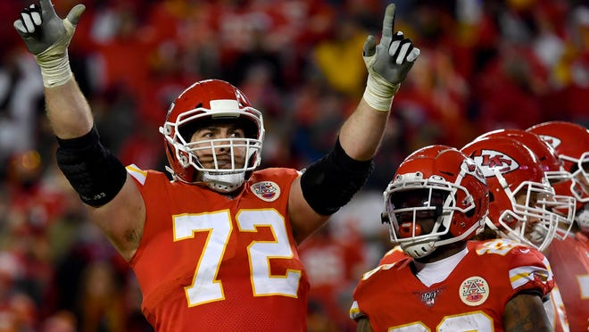 The linchpin of Kansas City's offensive line and an All-Pro selection this year, left tackle Eric Fisher will miss Super Bowl LV after tearing his left Achilles tendon in the fourth quarter of Sunday's 38-24 win over Buffalo in the AFC Championship game.