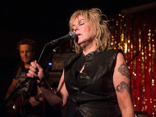 Lucinda Williams performs at the Stone Fox on September