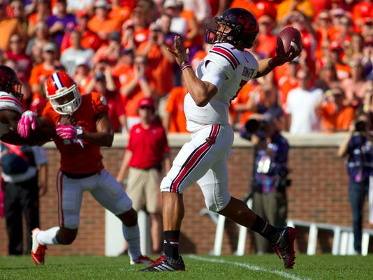 NCAA Football: Louisville at Clemson