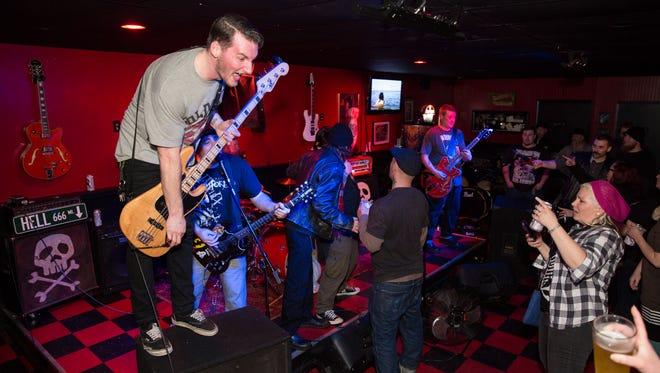 Lowbraü Bastards perform at Oddity Bar in 2014.