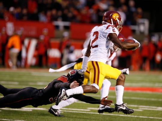 USC's Adoree Jackson is the top-ranked kickoff returner in the NFL draft.