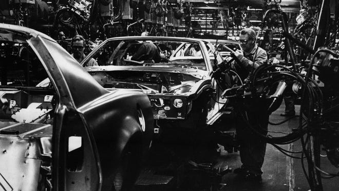 Assembly workers in 1986 were faced with the impending closure of the Norwood General Motors plant that would greatly affect the whole city of Norwood.