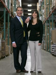 David and Tracy Scalen, co-owners of Regional Distributors,