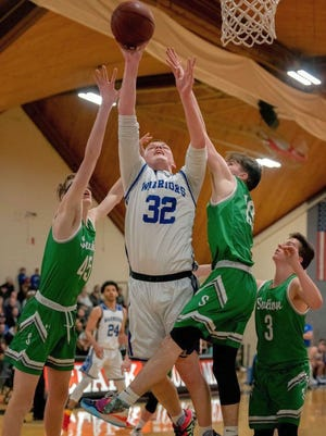 Though only a member of the Narragansett Regional football and boys' basketball teams for one season each after transferring in from Wachusett Regional. Shea Sullivan made quite an impact on the Warriors. He'll continue his education at Worcester State University in the fall.