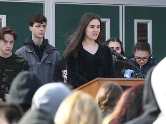 Walkout at Clarkstown South
