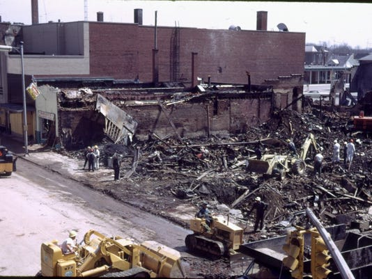 2003: 35th anniversary of downtown Richmond explosion April 6, 1968