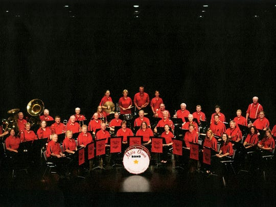 The Meire Grove Band, shownin a 2012 photo, has members