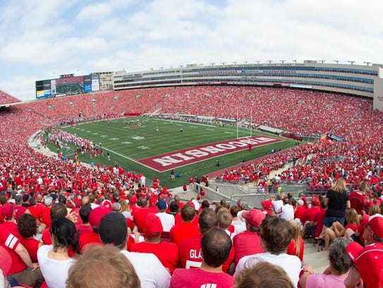 Western Kentucky will play a football game at Wisconsin's