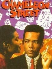 """Angela Leslie, a metro Detroiter who says she was sexually molested by Bill Cosby in the early 1990s, appears on the package design for the VHS release of """"Chameleon Street"""" in 1991."""