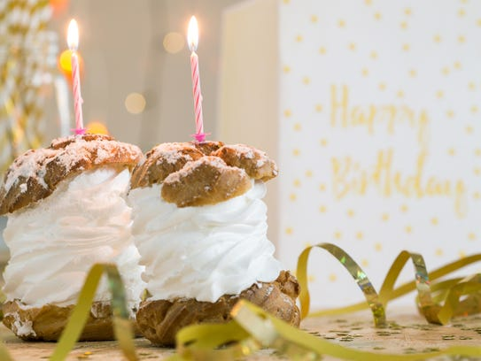 Celebrate a birthday Wisconsin-style with cream puffs.