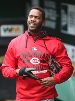 Aroldis Chapman was traded to the Yankees in December.