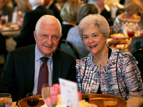 Steve and Pollyanna Stephens were recognized as Distinguished
