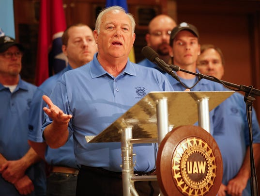 UAW President Dennis Williams
