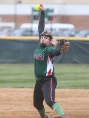 Taylor Erschen also doubles as the team's ace pitcher.