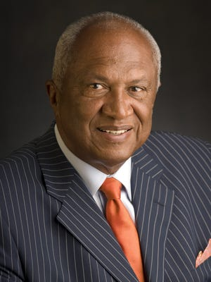 In 1967, Joel Ferguson became the first African American and youngest member to be elected to the Lansing City Council. He was also the first African American to serve on the Ingham County Board of Supervisors. He is co-founder of F & S Development Company, and the developer of 14 multi-family residential complexes throughout Michigan; co-founder of Lansing television station WFSL-TV (Channel 47) and the founder of Lansing's WLAJ-TV (Channel 53) television station. He is owner and developer of many major office buildings in the Lansing area and one of the original organizers of Capitol National Bank. Ferguson was first elected to the MSU Board of Trustees in 1986 and has been re-elected three times. He now serves as vice-chairman.