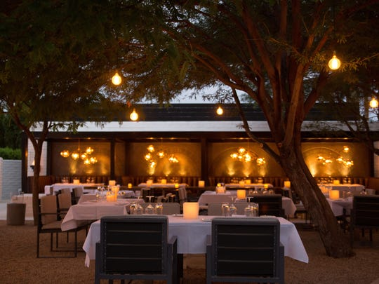 Celebrate New Year's Eve on the romantic patio of SO.PA, weather permitting, in Palm Springs.