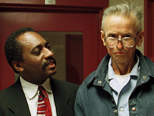 James Earl Ray and Dwight Lewis