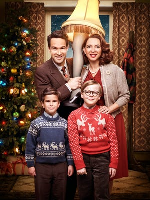 """""""A Christmas Story Live!"""" (Fox, Dec. 17, 2017): This live production of the Christmas classic starred Chris Diamantopoulos, Maya Rudolph, Andy Walken and Tyler Wladis as Ralphie as a kid who wants a BB gun for Christmas. Music for the production came from a 2012 musical version based on the 1983 movie of the same name."""