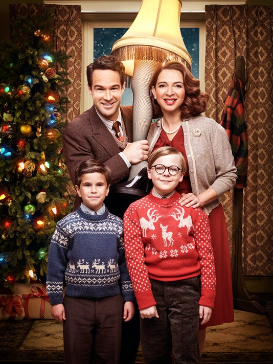 tv tonight a christmas story returns as a live musical - What Channel Is A Christmas Story On