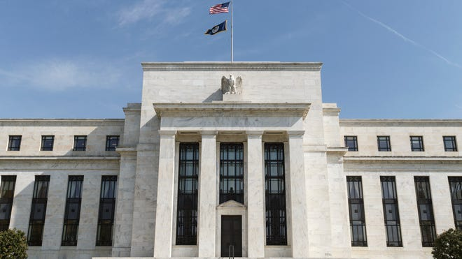 The U.S. Federal Reserve Bank building in Washington, D.C.