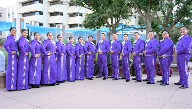 Pictured is Mariachi Plata of Western New Mexico University.